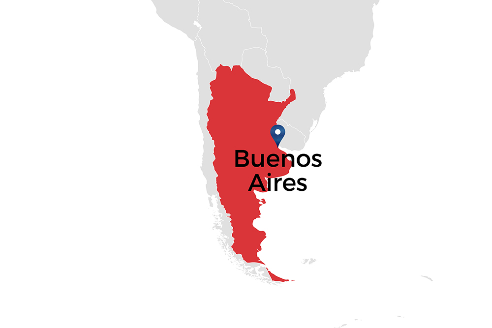 Buenos Aires in Argentina